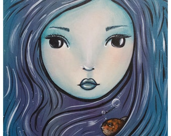 The Mermaid 8x10 Print