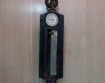 Antique Cast Iron Landers, Frary and Clark 300 lb Hanging Scale