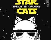 Star Wars: Episode VII - The Force Awakens. sticker 3.9 x 3.9 in