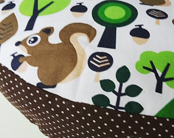 sweet floor cushions seat cushion 30 cm forest green brown squirrel points