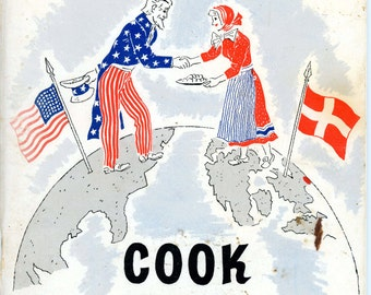 "1960 Cookbook, ""Danish Food Cook Book"" - English and Danish Text"