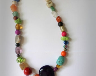 Bold and Colorful Necklace