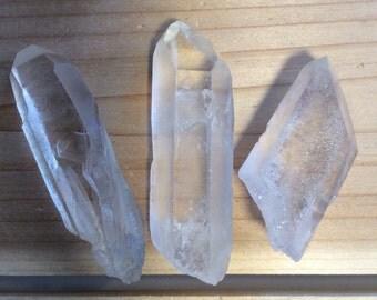 Lemurian Natural Crystal Point,Spiritual Stone, Healing Stone, Healing Crystal, Chakra