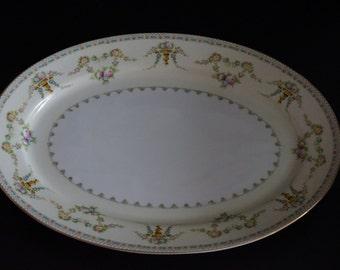 Vintage, Meita China Laurel Serving Platter