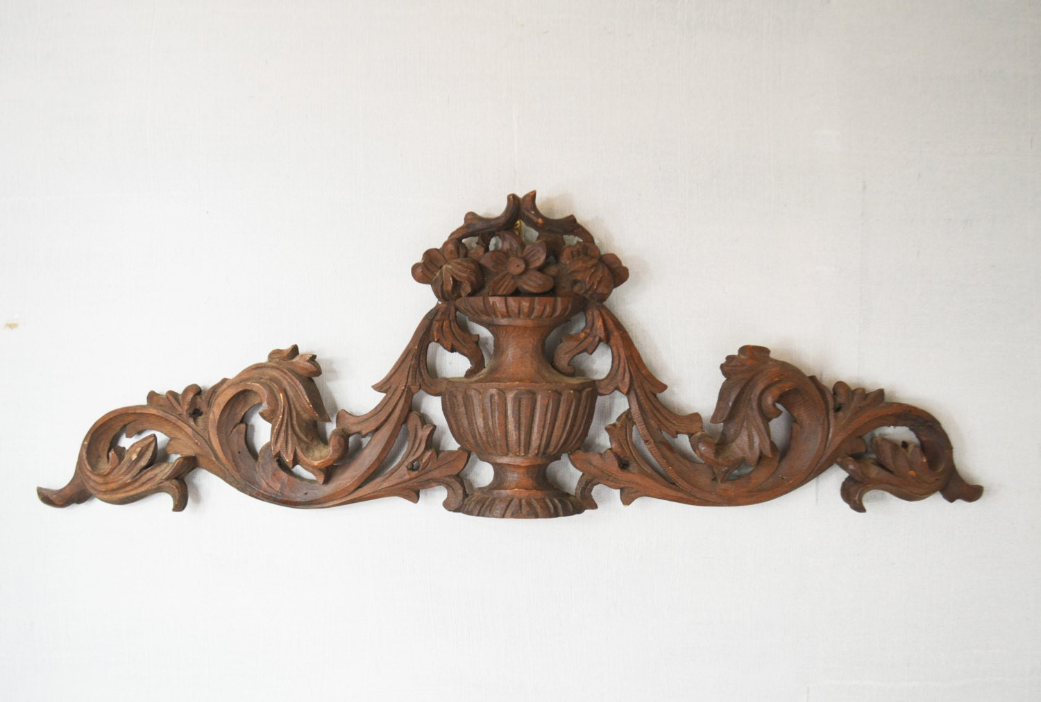victorian wall art d cor hand carved wood architectural