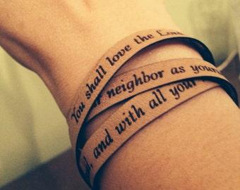 First commandment bracelet