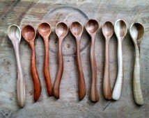 Small wooden spoons. Wooden spoons. Hardwood Spoons. Wooden Baby Spoons. Wooden Salt spoon. Wooden sugar spoons. Wooden honey spoons.