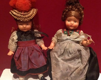 Two Small Vintage Dolls