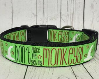 Wizard of Oz Monkeys Inspired Dog Collar