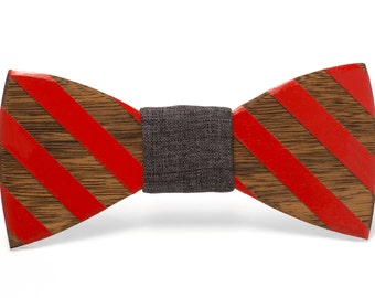 "Wood Bow tie ""Calvin"""