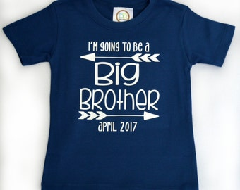 Big Brother Announcement- I'm Going to be a Big Brother Shirt - Pregnancy Announcement - Pregnancy Reveal