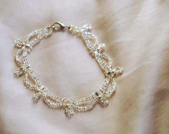 Crystal Waves Bracelet