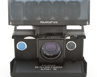 Polaroid CLOSE-UP Lens and Flash Diffuser #121 with original box - Polaroid SX70 accessory kit SX-70 SX70 accessories polaroid macro