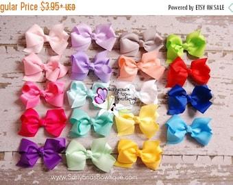 SALE CIJ Baby Toddler Girl Bows, Bow Hair Clips, Baby Bows, Baby Bow Headband, Pigtail Bows, Ribbon Bows - SB-gb001