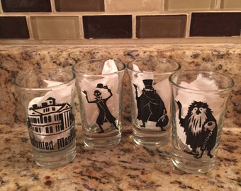 Haunted Mansion Themed Shot Glasses