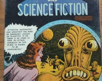 vintage comic,the best of HORROR and SCIENCE FICTION comics,no1