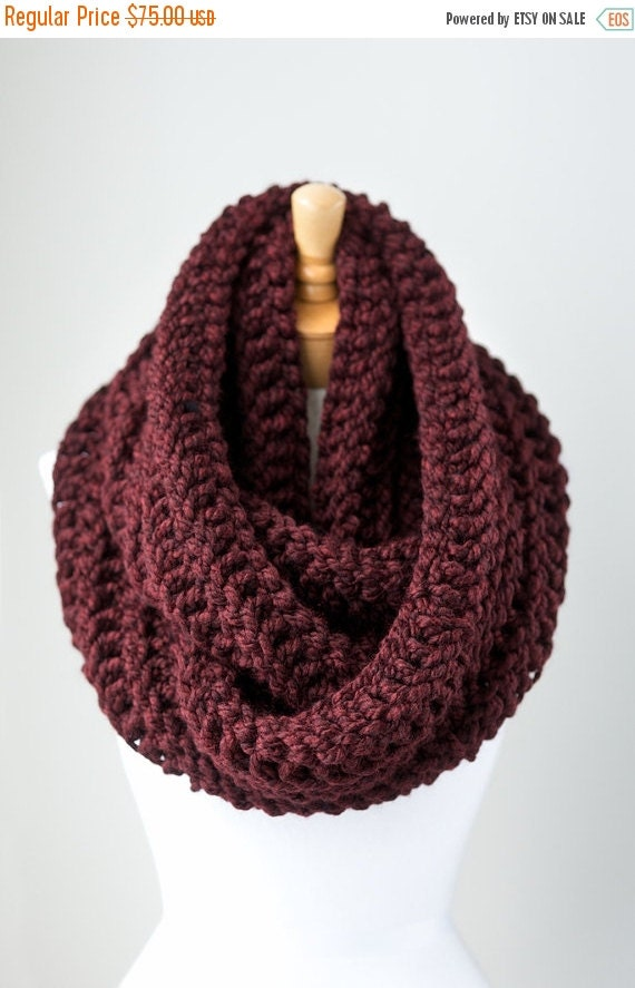 summer sale knitted infinity scarf by pikapikacreative