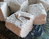 Earl Grey Black Tea Marshmallows  - 1 dozen gourmet homemade marshmallows