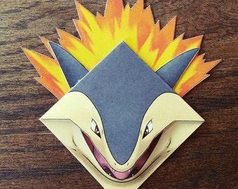 Typhlosion Bookmark