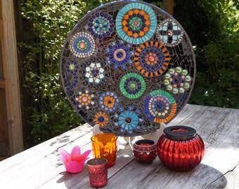 Mosaic platter