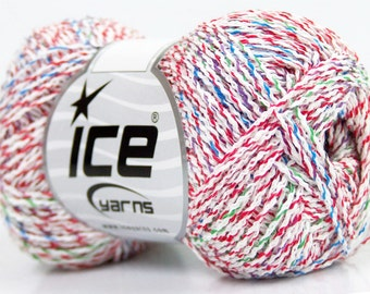 Ice Yarns Baby Jelly Red Green Blue Yarn