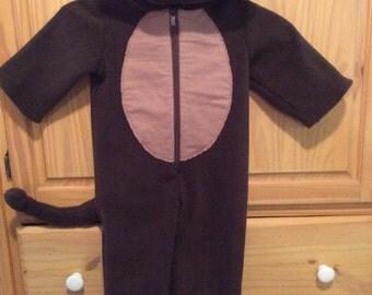 New 2T monkey costume