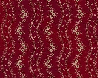 Civil War Reproduction, cranberry color, Nancy Gere design