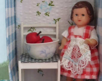 Vintage German Ari Doll House Doll in Box