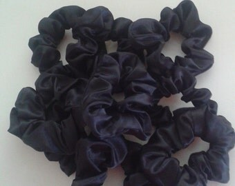 10 Pack Satin Hair Scrunchies/Value Pack/Ponytail holders
