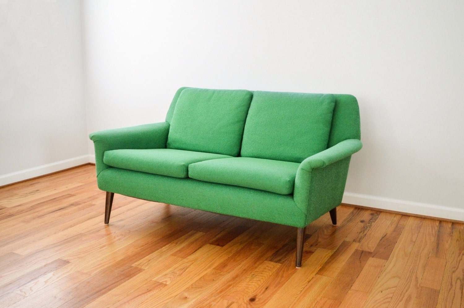 mid century sofa loveseat couch beautiful swedish mid. Black Bedroom Furniture Sets. Home Design Ideas