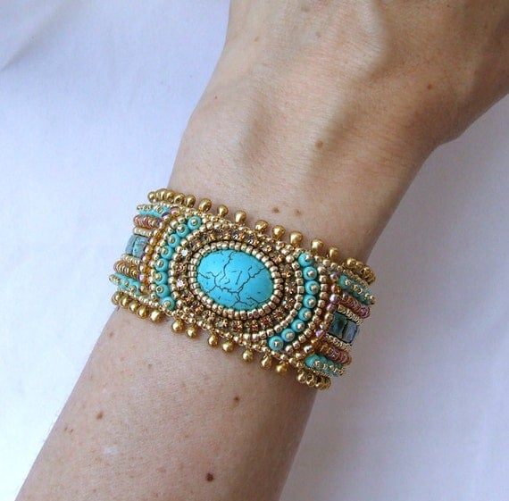 Tutorial Bead Embroidery Bracelet, Gold Turquoise Cuff. Men Bangles. Freshwater Pearl Anklet. Promise Wedding Rings. 15 Carat Engagement Rings. Glow Necklace. 10 Karat Gold Bangle Bracelets. Ethical Diamond Engagement Rings. Fancy Beads