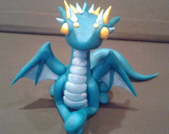 Teal Little Lady Dragon