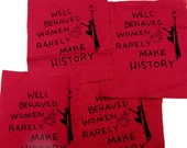 WELL BEHAVED WOMEN patch
