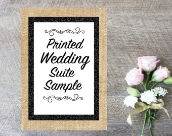 Sample Printed Wedding Suite Sample-Wedding Invitations-Printed Wedding Suite Invitations