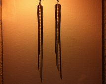 Vintage film earrings