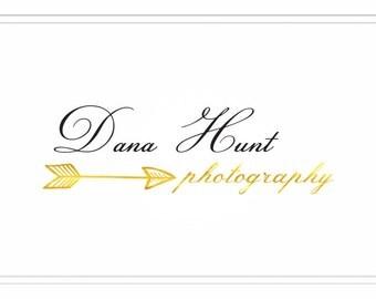 Premade Photography Logo + Watermark