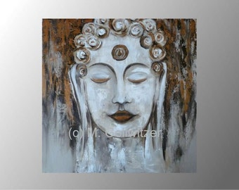 acrylic painting Buddha