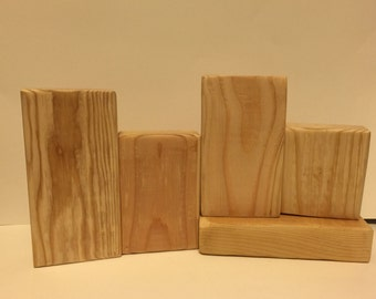 Unfinished Wood Block Set - DIY - Block Set - Unfinished 5L