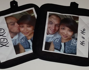 Pot Holder, Pot Holders - Your Image / Artwork Here - Personalized