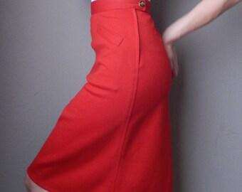 60's/70's Sonia Rykiel Woolmark Vintage Skirt