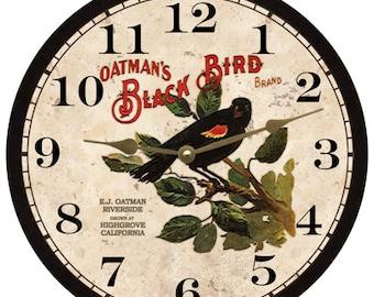 Black Bird Clock