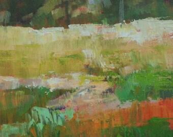 Woodland Meadow - Oil - 7 x 5