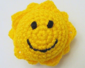 Mr. Golden Sun Amigurumi PDF Crochet Pattern INSTANT DOWNLOAD