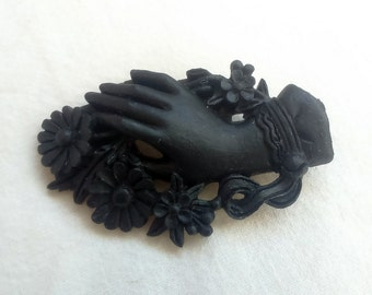 "PIN ""Victorian Hand"" black"