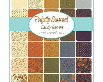 Perfectly Seasoned Charm Pack by Sandy Gervais for Moda Fabrics - 5 inch squares