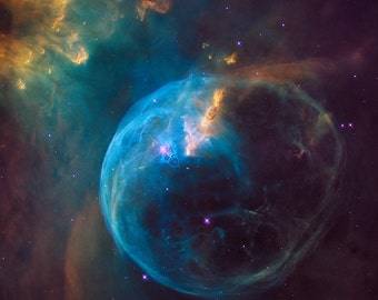 P1613, Bubble in Space, Deep Space, Space Photo