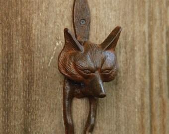 Fox door knocker