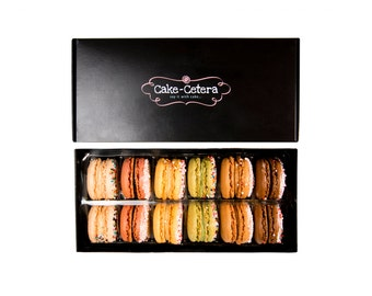 French Macarons Gift Box