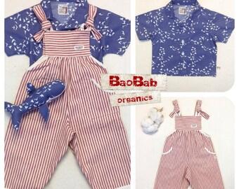 Organic Baby Clothes, Boy's Set 3 pcs