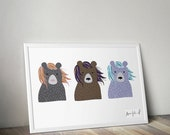 Three Bears | Print